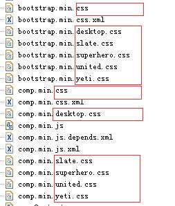 皮肤CSS文件